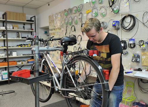 Dominik Kaplan - Verkauf, Fahrrad