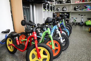 Kinderfahrräder, Service inkl.